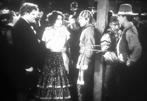 Richard Barthelmess, Barbara Bedford, Fred Kohler, James Rennie, and Arthur Stone in The Lash (1930)