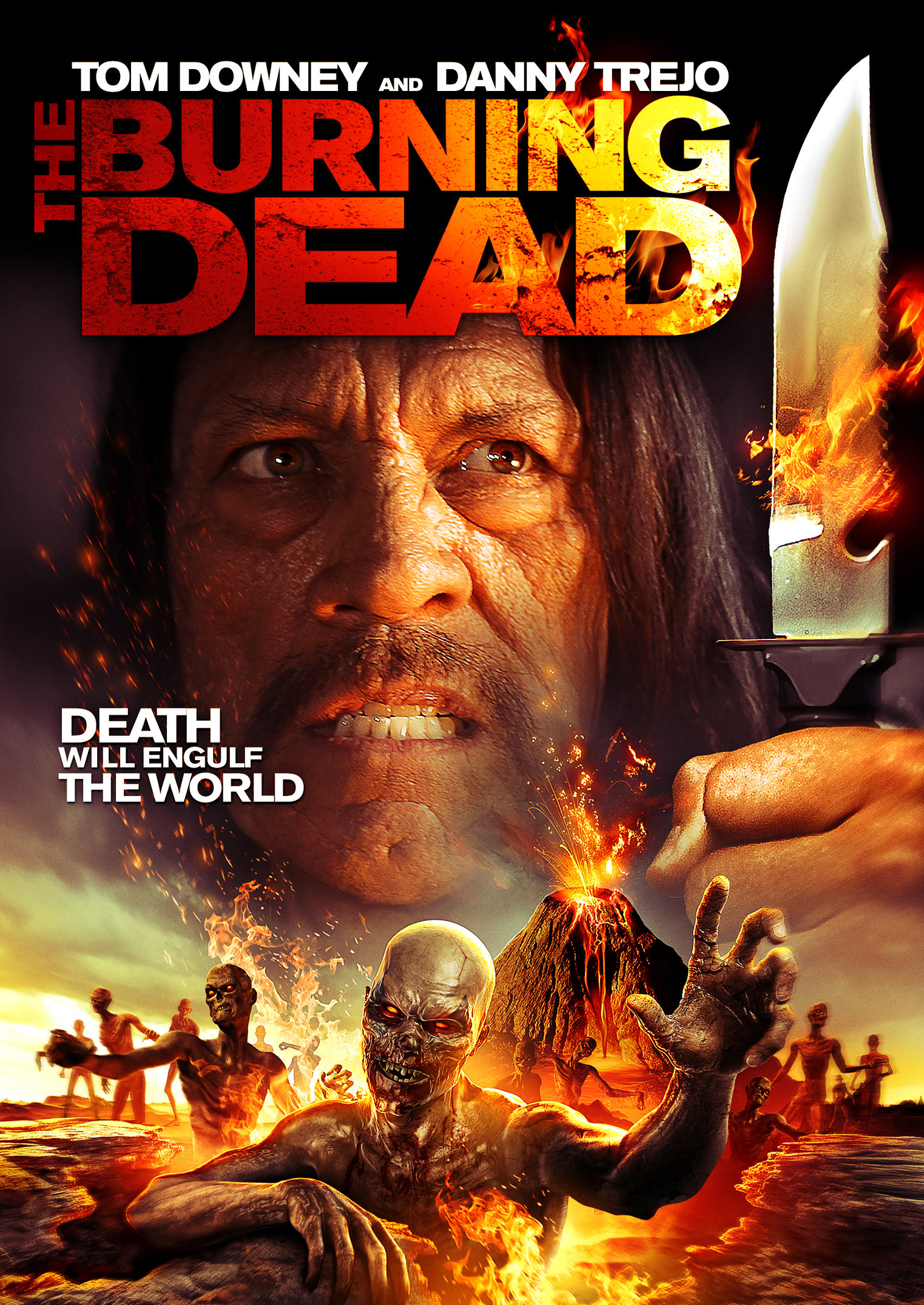 The Burning Dead 2015 Dual Audio Hindi 300MB BluRay 480p ESubs