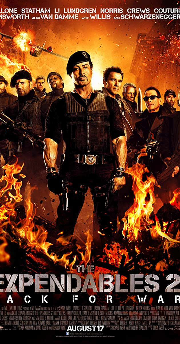 Free Download The Expendables 2 Full Movie