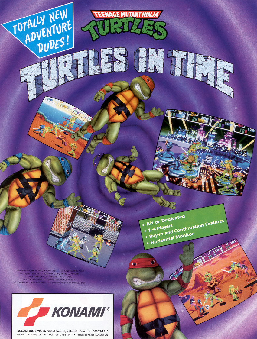 Teenage Mutant Ninja Turtles: Turtles in Time (Video Game 1991) - IMDb