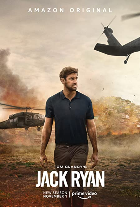 Tom Clancy's Jack Ryan (2018–) Hindi Amazon WEB-DL - 720P - x264 - 300MB - Download & Watch Online  Movie Poster - mlsbd