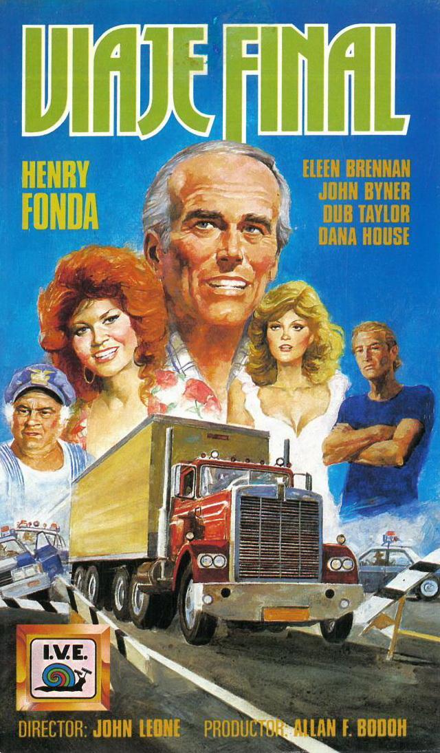 Henry Fonda, Susan Sarandon, Robert Englund, Eileen Brennan, and Dub Taylor in The Last of the Cowboys (1977)