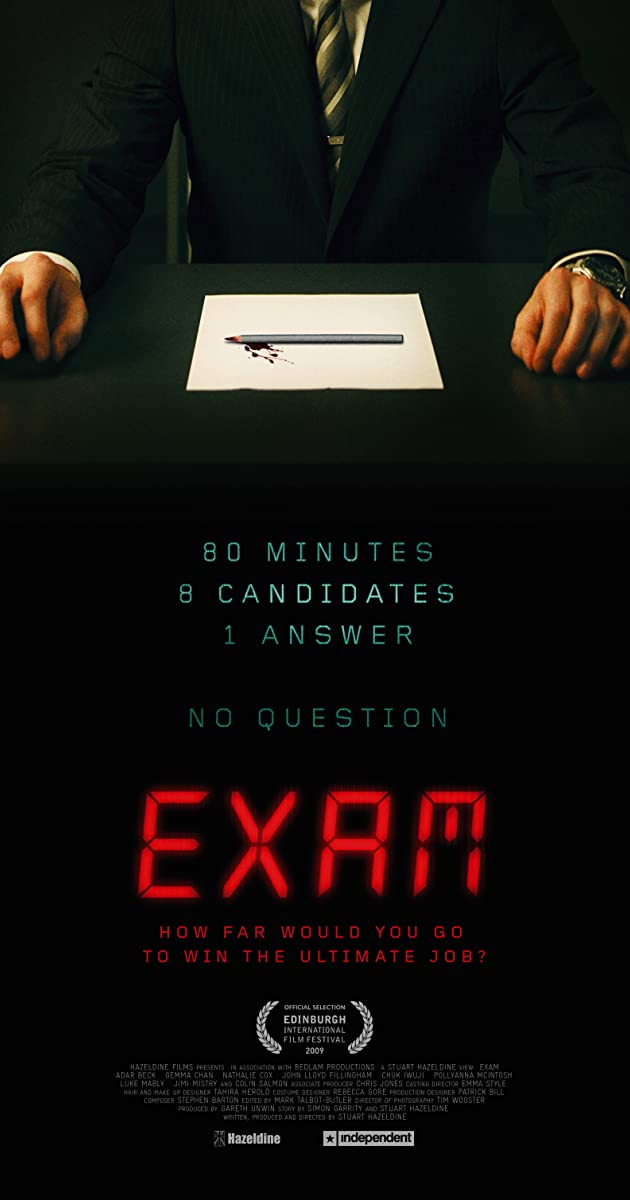Exam (2009) - IMDb