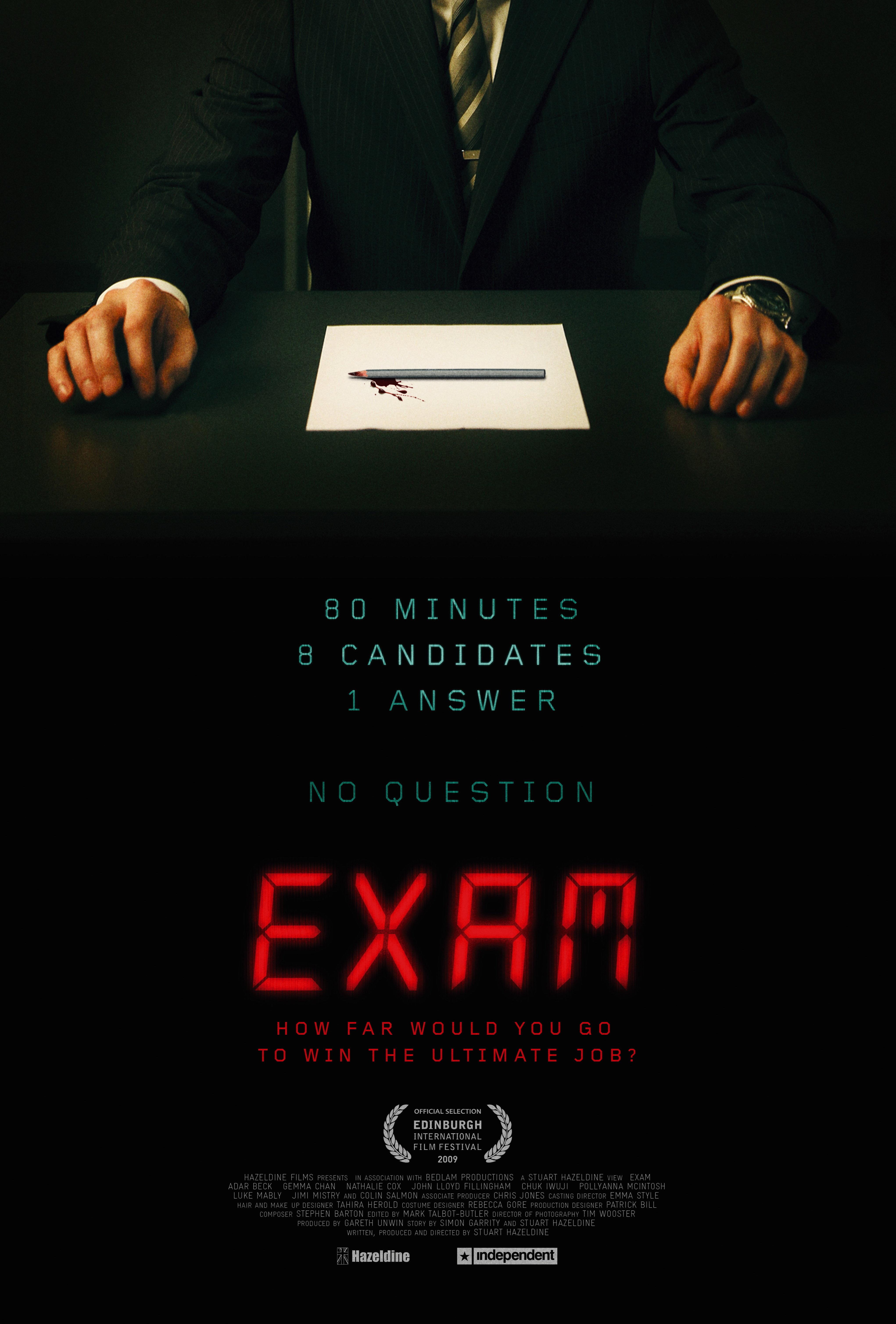 Exam (2009) BluRay 480p, 720p & 1080p