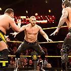 Joe Seanoa, Rami Sebei, and Tom Pestock in WWE NXT (2010)