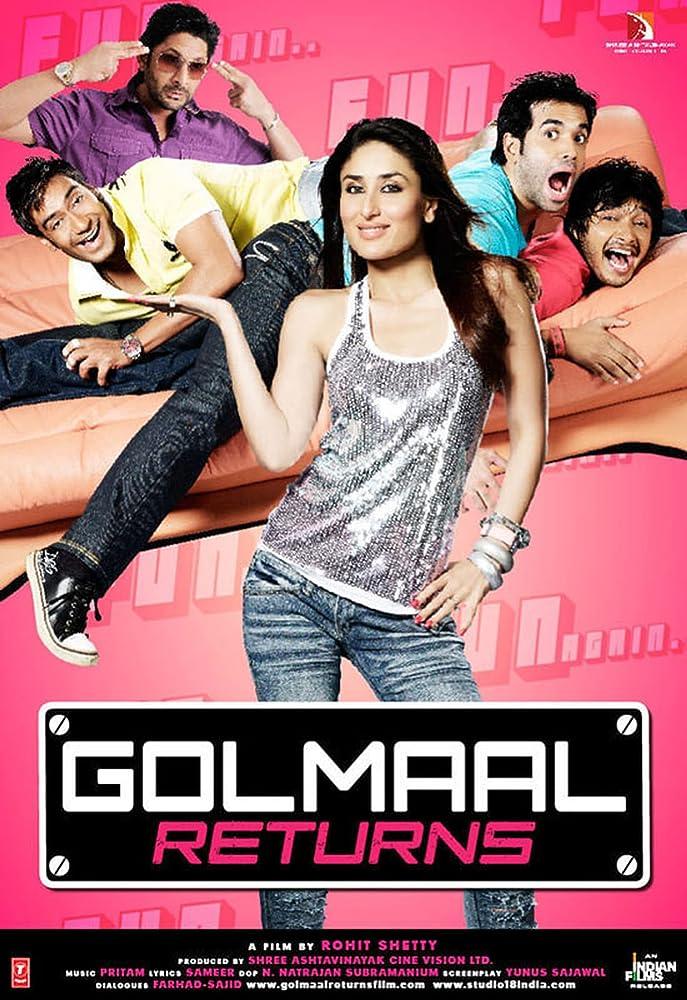 Golmaal Returns (2008)