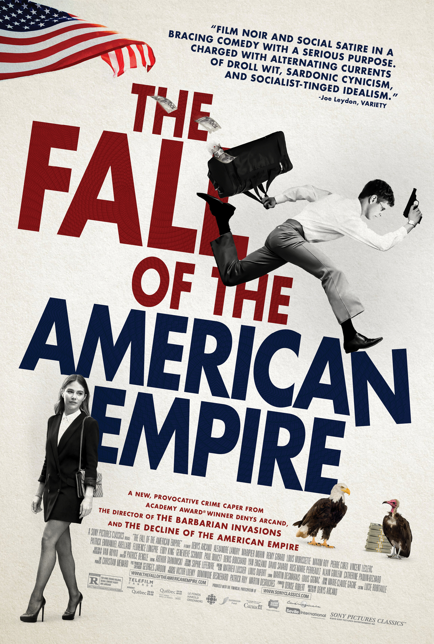 Image result for The Fall of the American Empire