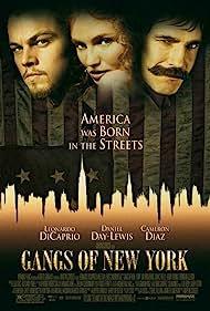 Leonardo DiCaprio, Cameron Diaz, and Daniel Day-Lewis in Gangs of New York (2002)
