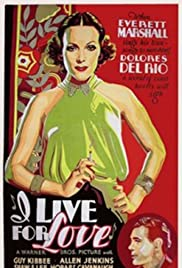 I Live for Love Poster