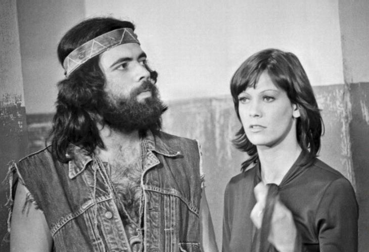Jorge Botelho and Dilma Lóes in O Bem-Amado (1973)