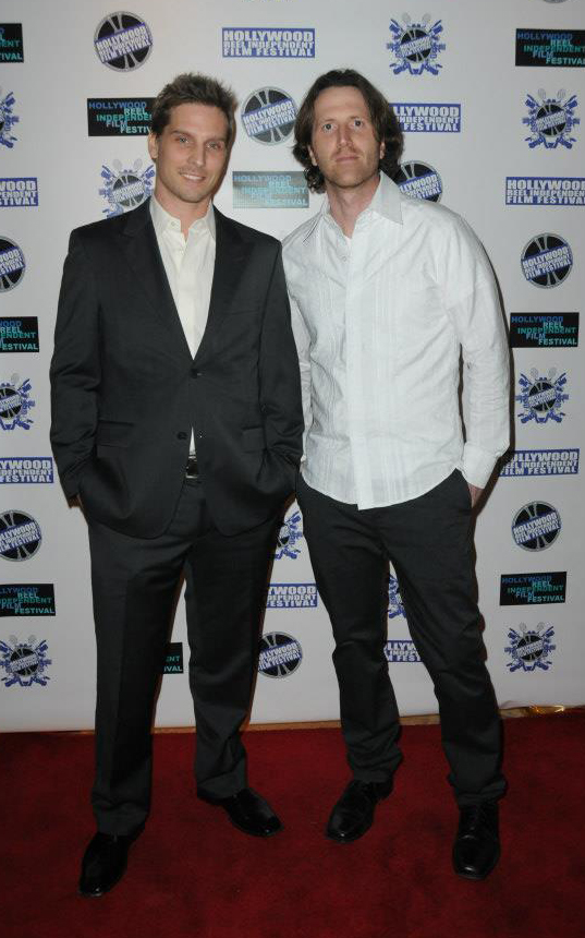 Doug Maguire and John Scalco at an event for Bank Roll (2012)