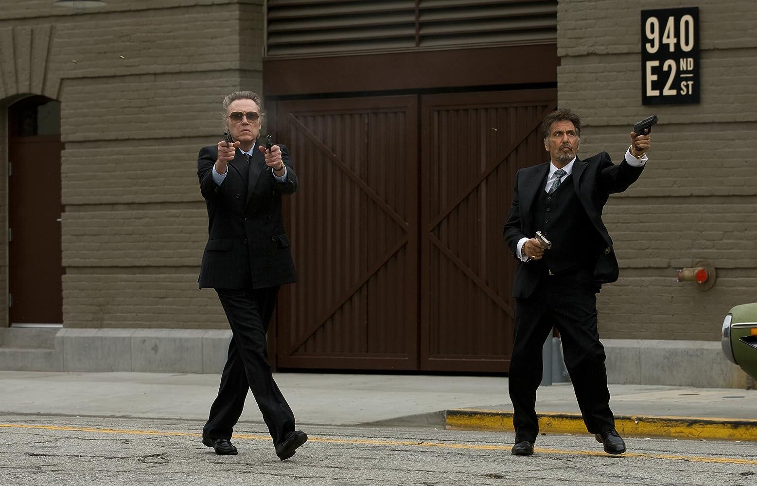 Al Pacino and Christopher Walken in Stand Up Guys (2012)