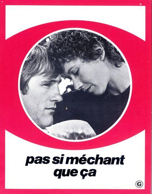 Gérard Depardieu and Marlène Jobert in Pas si méchant que ça (1975)