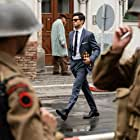 Dominic Cooper and Dusan Martincek in Spy City (2020)