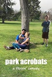 Park Acrobats Poster