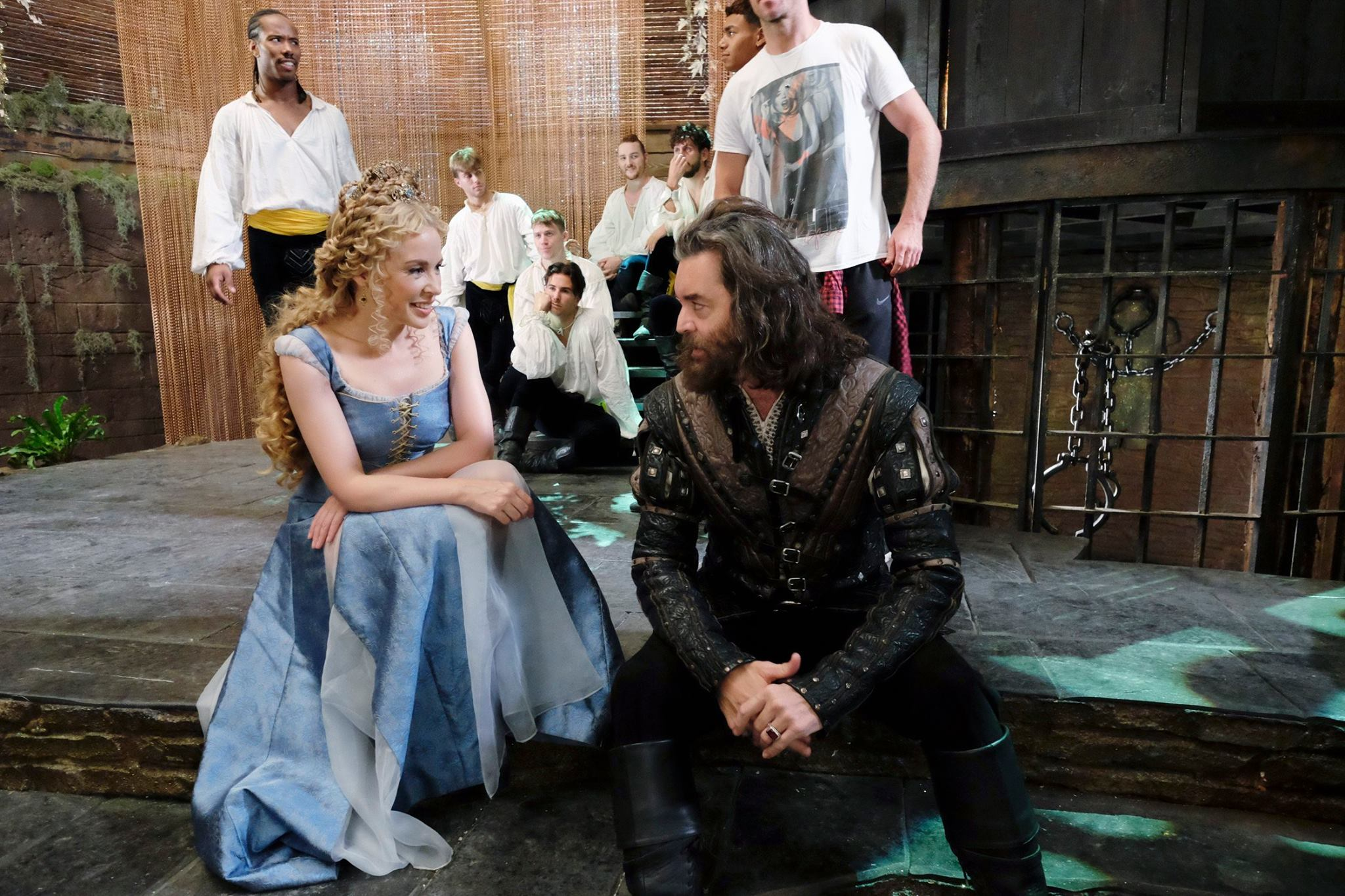 Kylie Minogue and Timothy Omundson in Galavant (2015)