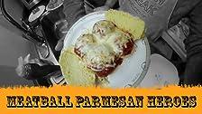 Meatball Parmesan Heroes