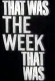 That Was the Week That Was Poster