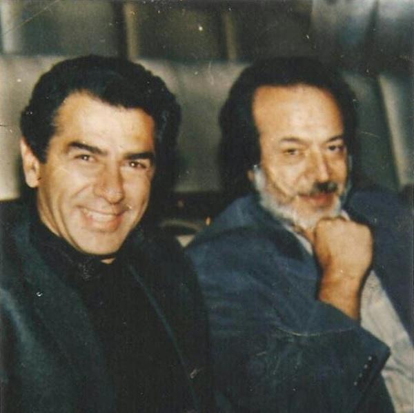 Faramarz Gharibian and Iraj Ghaderi in Mikhaham zende bemanam (1995)