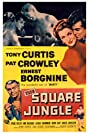 The Square Jungle (1955) Poster