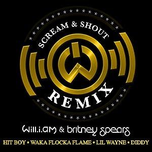 Will.I.Am Feat. Britney Spears, Hit Boy, Waka Flocka Flame, Lil Wayne & Diddy: Scream & Shout, Remix