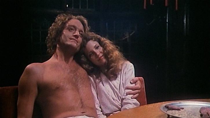 Nancy Allen and Gerrit Graham in Home Movies (1979)