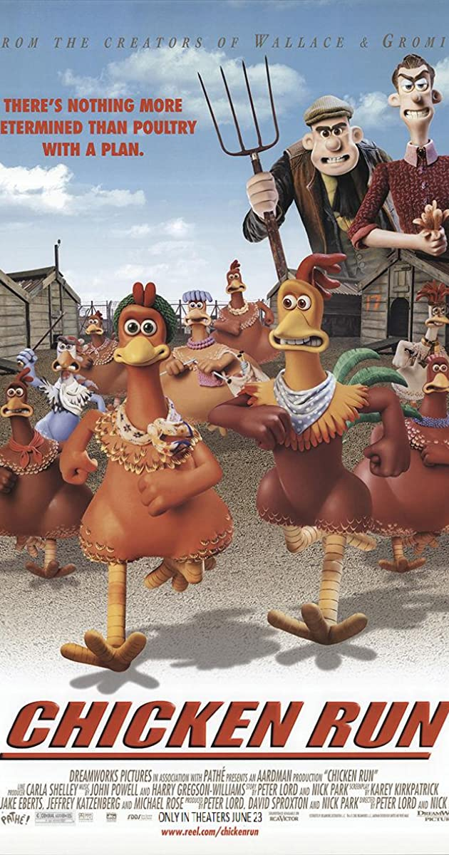 Chicken Run (2000) Hindi Dubbed 250MB HDRip 480p Full Movie