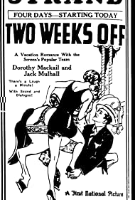 Dorothy Mackaill and Jack Mulhall in Two Weeks Off (1929)