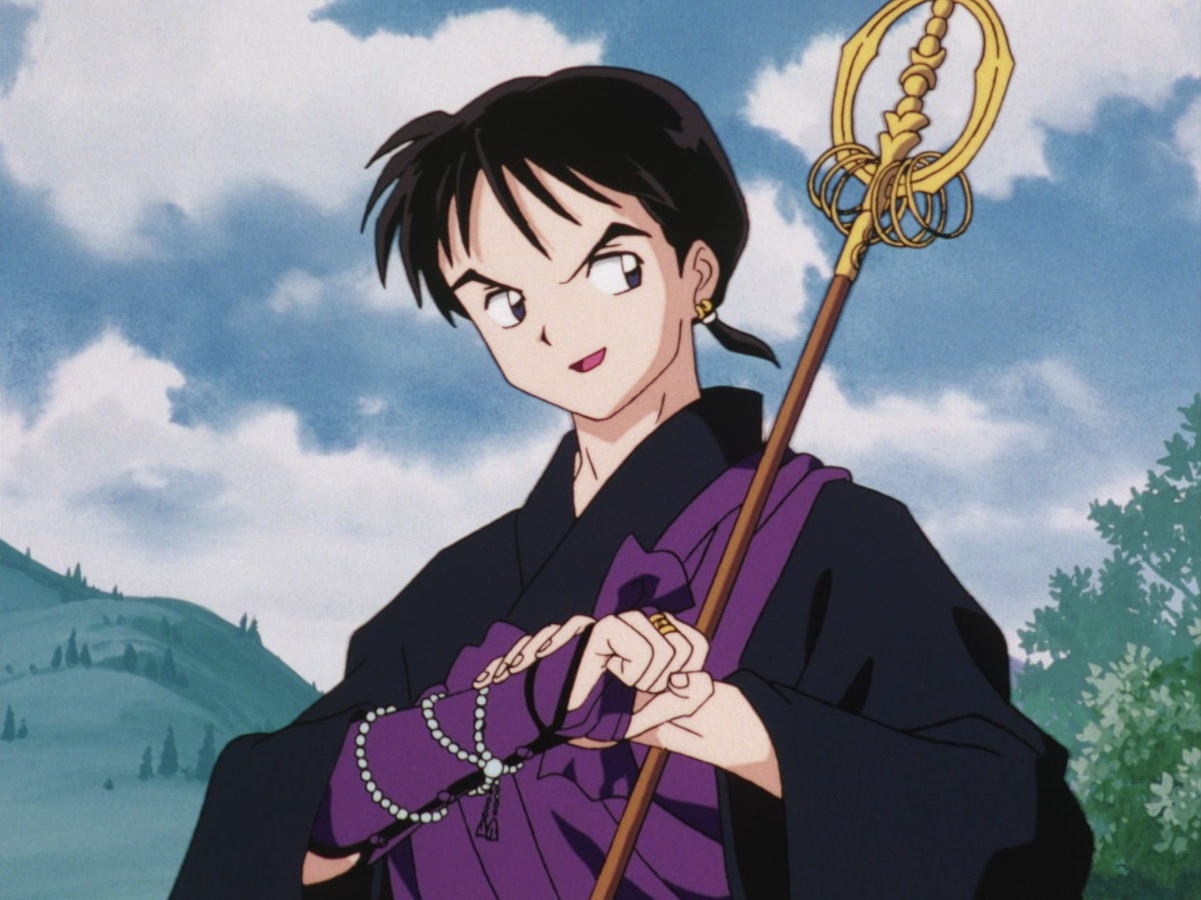 "Inuyasha"" Mystical Hand of the Amorous Monk, Miroku (TV Episode 2001) - IMDb"