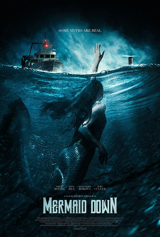Sugauta Undinė (2019) / Mermaid Down