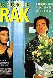 Le silence de Rak Poster