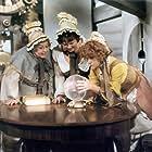 Jaroslava Adamová, Blazena Holisová, and Stella Zázvorková in Predeme, predeme zlatou nitku (1981)