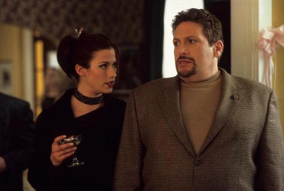 Harvey Fierstein and Brooke Langton in Playing Mona Lisa (2000)