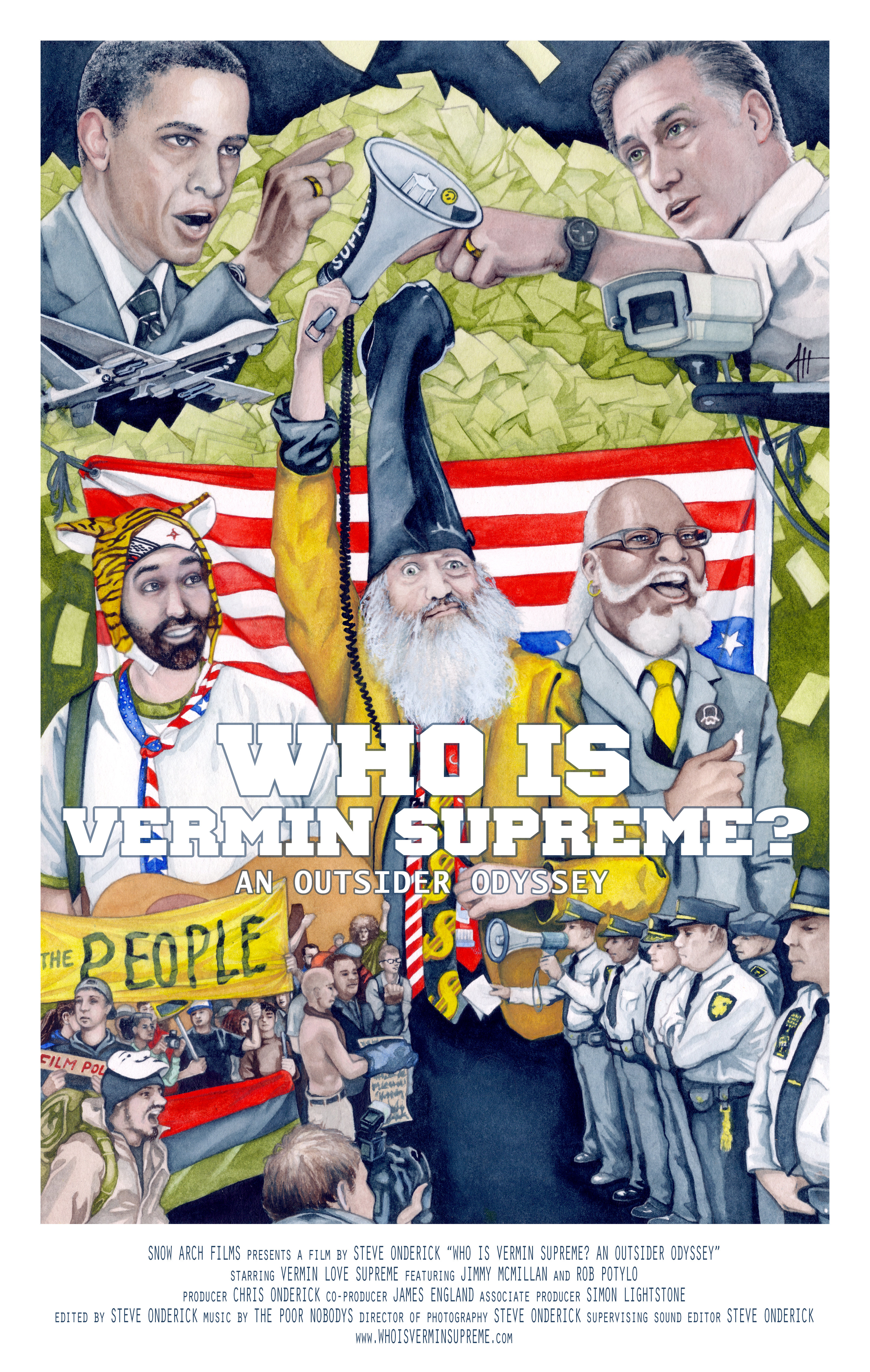 Who Is Vermin Supreme? An Outsider Odyssey (2014)