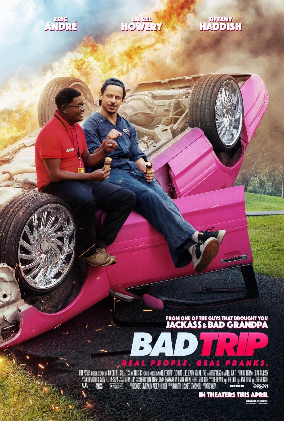 Bad Trip (2021) NF Hollywood Movie ORG Dual Audio [Hindi or English]