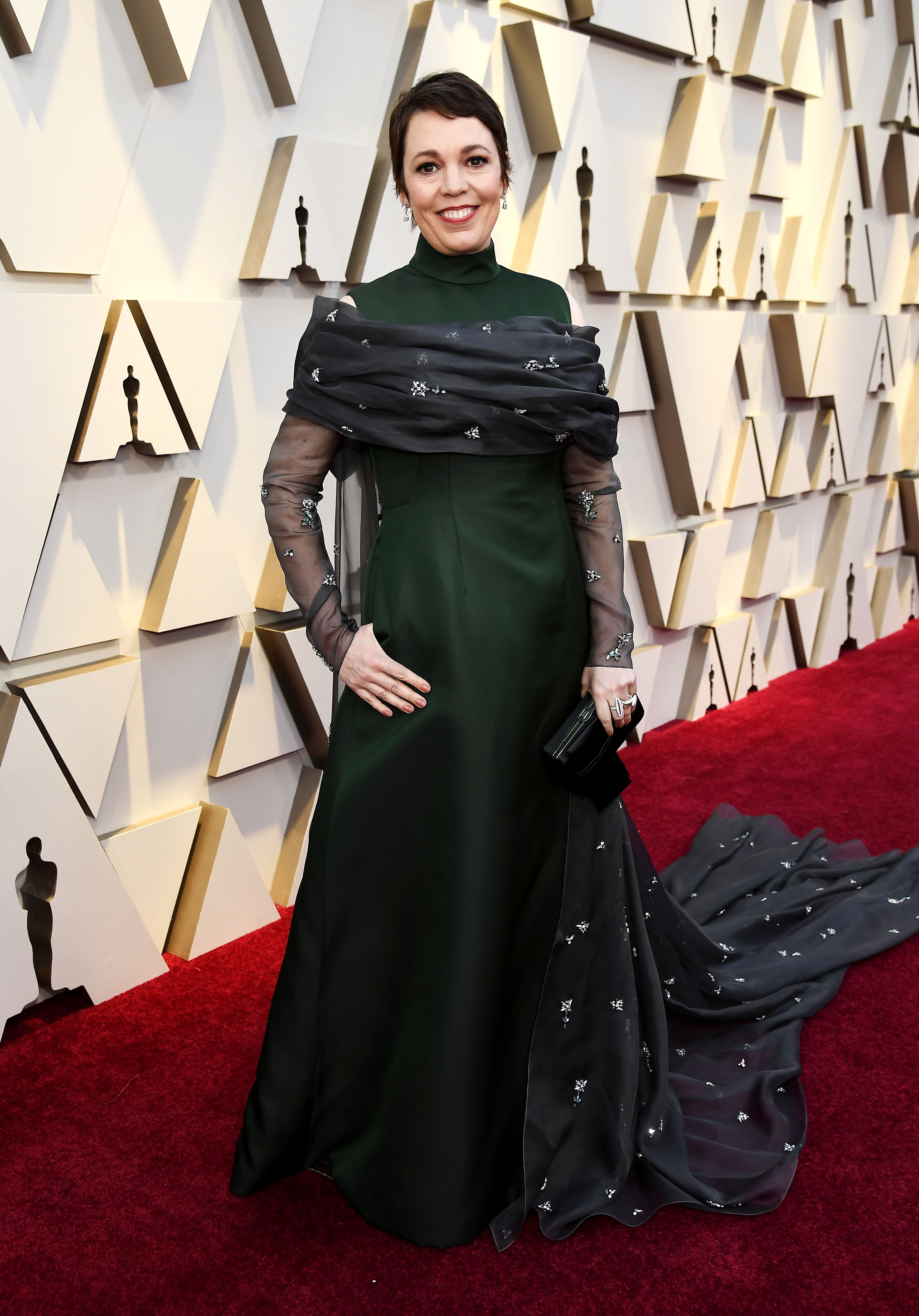 Olivia Colman at an event for The Oscars (2020)