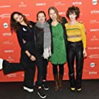 Miranda July, Molly Parker, Josephine Decker, and Helena Howard at an event for Madeline's Madeline (2018)