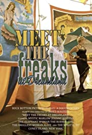 Meet the Freaks at Dreamland Poster