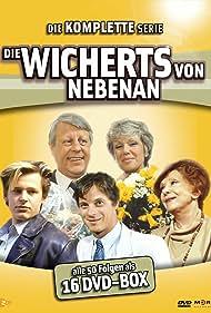 Hendrik Martz, Stephan Orlac, Edith Schollwer, Jochen Schroeder, and Maria Sebaldt in Die Wicherts von nebenan (1986)
