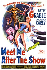 Meet Me After the Show (1951) Poster - Movie Forum, Cast, Reviews