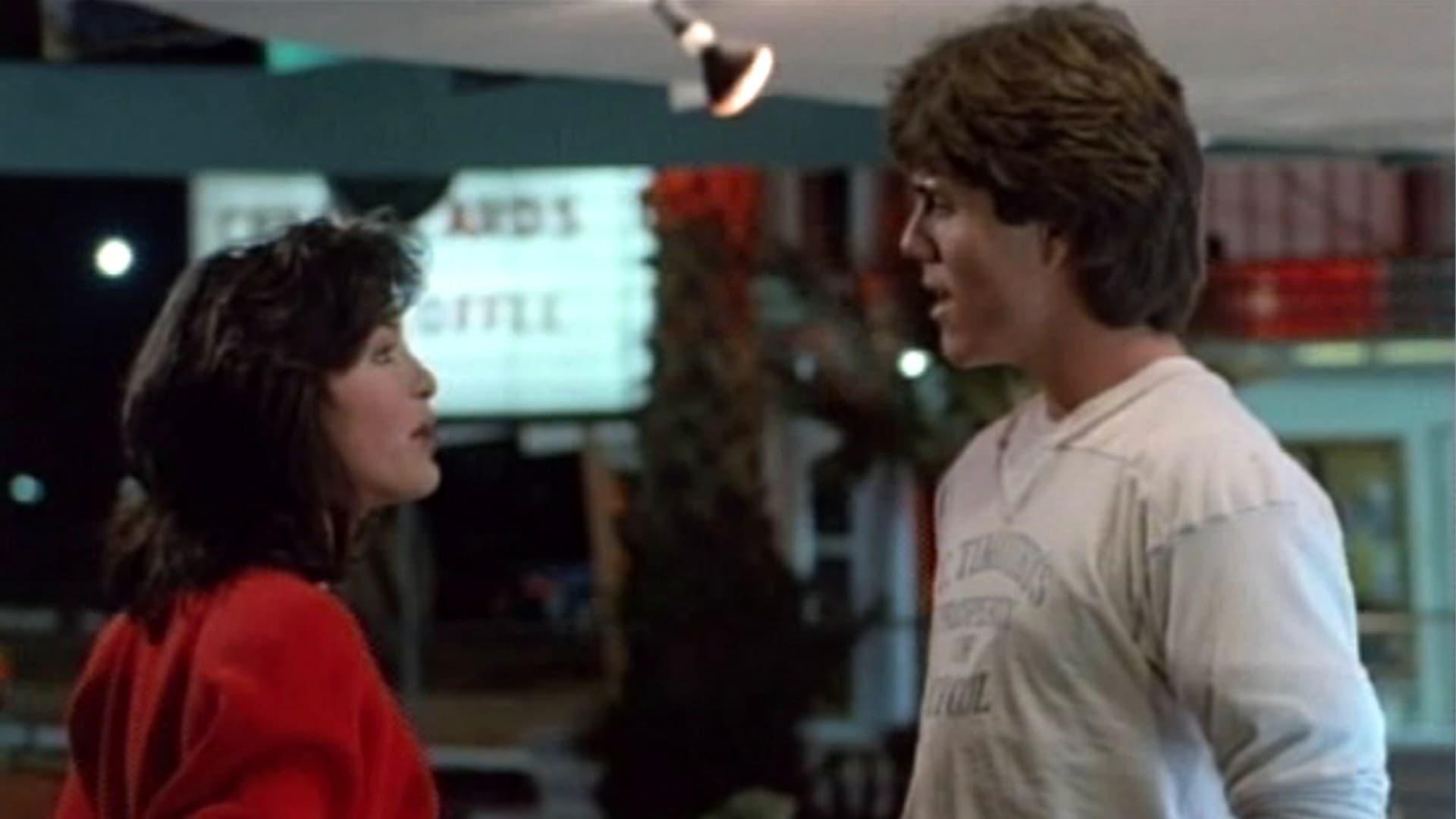 Mariska Hargitay and Scott Strader in Jocks (1986)