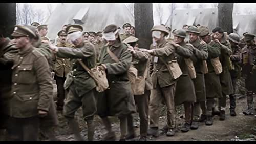 Produced and directed by Peter Jackson: The acclaimed documentary is an extraordinary look at the soldiers and events of the Great War, using film footage captured at the time, now presented as the world has never seen. By utilizing state-of-the-art restoration, colorization and 3D technologies, and pulling from 600 hours of BBC archival interviews, Jackson puts forth an intensely gripping, immersive and authentic experience through the eyes and voices of the British soldiers who lived it.