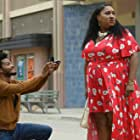 Jermaine Fowler and Ashley Nicole Black in 3rd & Bonaparte Is Always in the Shade (2019)