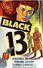 Black 13 (1953) Poster