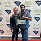 C. Neil Davenport and Cameron Logan at the Reedy Reel Film Festival premiere of 'Bryn Gets a Life.'
