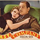 Melvyn Douglas and Florence Rice in Fast Company (1938)