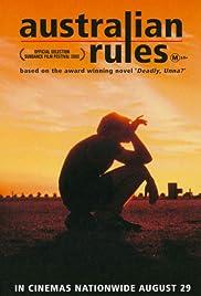 Australian Rules Poster
