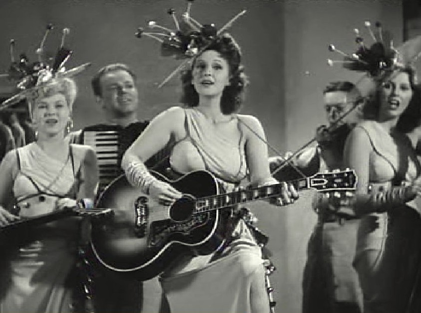 Jesse Ashlock, Art Wenzel, and Tailor Maids in Cowboy Canteen (1944)