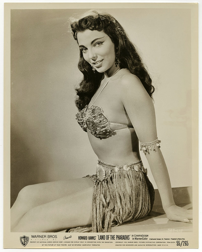 Joan Collins in Land of the Pharaohs (1955)