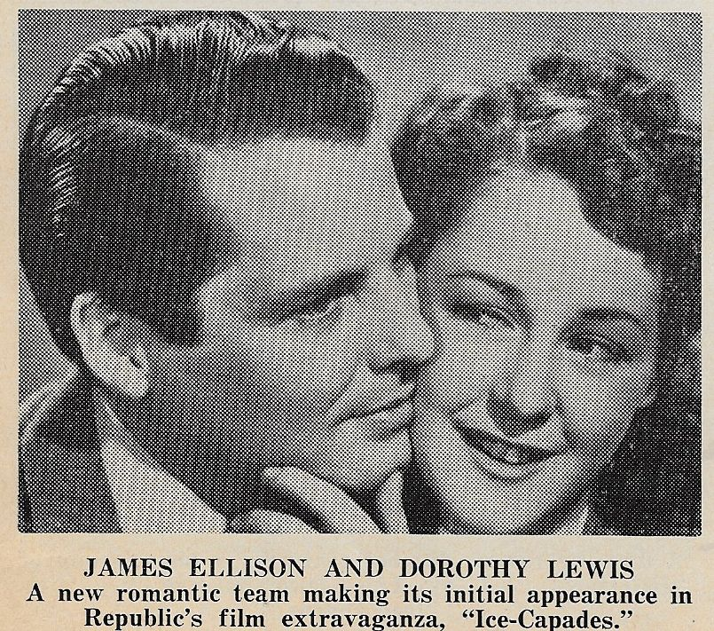 James Ellison and Dorothy Lewis in Ice-Capades (1941)